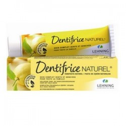 DENTIFRICE NATUREL 80 G LEHNING