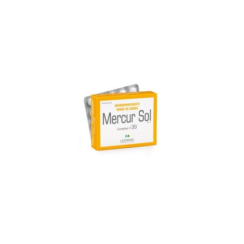 MERCUR SOL COMPLEXE 39 COMPRIMES LEHNING