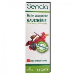 SENCIA HUILE ESSENTIELLE GAULTHERIE COOPER