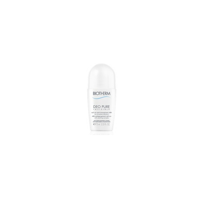 DEO PURE INVISIBLE ROLL ON 75ML BIOTHERM