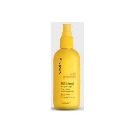 SOLAIRE SPRAY ULTRA LEGER SPF 50+ CORPS ET VISAGE GALENIC