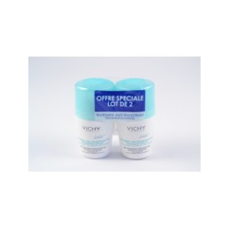 DEODORANT ANTI-TRANSPIRANT BILLE  LOT DE 2 VICHY