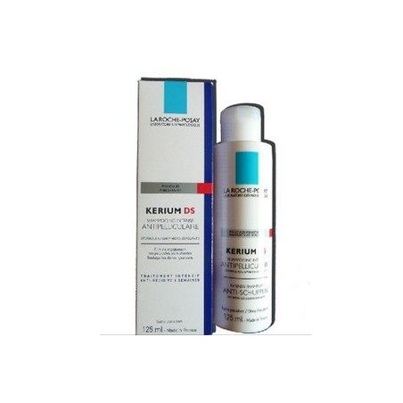 KERIUM DS SHAMPOOING INTENSIF ANTIPELLICULAIRE 125ML LA ROCHE POSAY