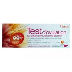TEST D'OVULATION 7 TESTS ACTAVIS