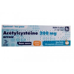ACETYLCYSTEINE 200MG ARROW TOUX GRASSE ARROW GENERIQUES