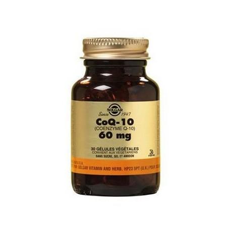 COQ 10 60 MG - coenzyme Q-10- 30 gélules SOLGAR