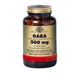 GABA 500MG 50 gélules SOLGAR