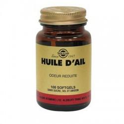 HUILE D'AIL ODEUR REDUITE 100 gélules SOLGAR
