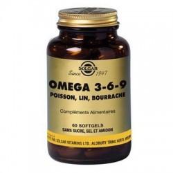 OMEGA 3 6 9  - 60 COMPRIMES SOLGAR