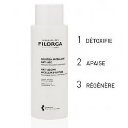SOLUTION MICELLAIRE ANTI AGE 400ML FILORGA