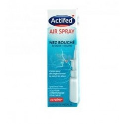 ACTIFED AIR SPRAY NEZ  JOHNSON ET JOHNSON 10 ML