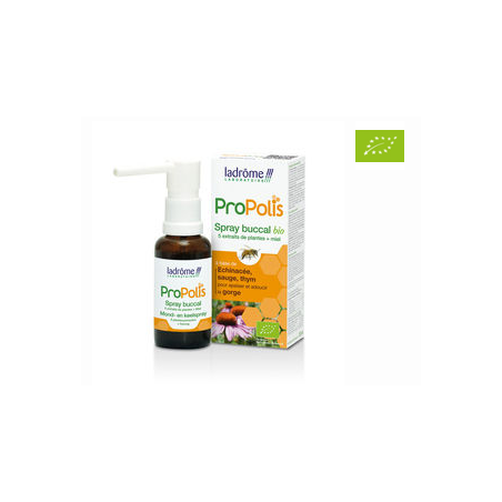 SPRAY BUCCAL BIO PROPOLIS  30ML LADROME