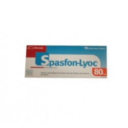 SPASFON LYOC 80MG 10 LYOPHILISATS ORAUX TEVA