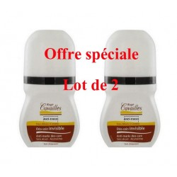 DEO SOIN INVISIBLE LOT DE 2 ROLL ON ROGE CAVAILLES
