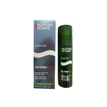 AGE FITNESS ADVANCED NIGHT SOIN RECUPERATEUR ANTI AGE 50ML BIOTHERM HOMME