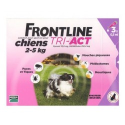 FRONTLINE TRI ACT CHIENS 2-5KG MERIAL