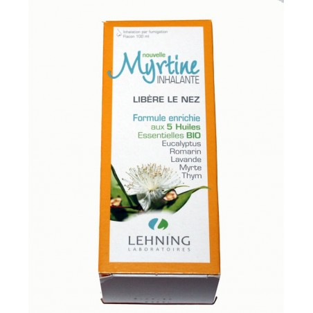 MYRTINE INHALANTE INHALATION PAR FUMIGATION 100ML LEHNING
