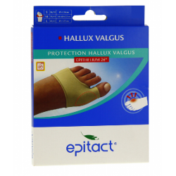 PROTECTION HALLUX VALGUS EPITHELIUM 26 Taille S EPITACT
